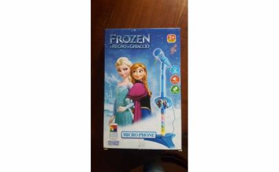 Microfon pentru Karaoke Frozen