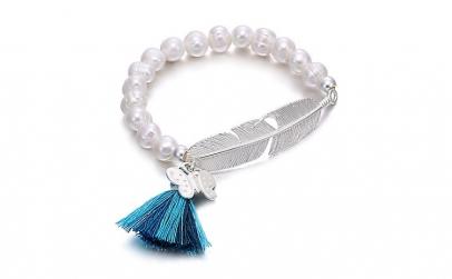Bratara perle naturale + certificare