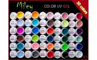 Gel UV Color Miley - Set 30 Bucati