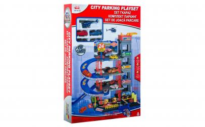 Set de joaca parcare garaj cu 4 etaje