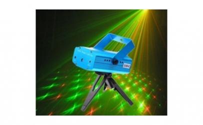 Proiector laser cu stele miscatoare