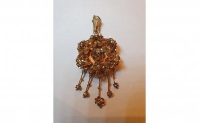 Pandantiv cu diamante, stil victorian