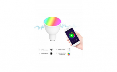 Bec Inteligent LED Wifi Multicolor
