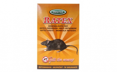 TER Pasta rodenticida Ratex - 400gr