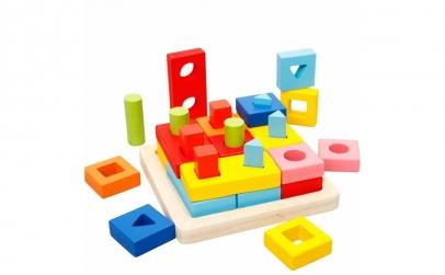 Joc Montessori Sortator forme geometrice