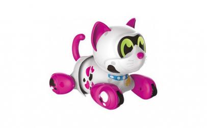 Robot pisica inteligenta canta danseaza