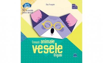 Creeaza animale Vesele- Origami
