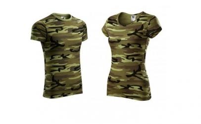 Set tricouri camuflaj pentru El si Ea