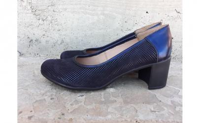 Pantofi bleumarin Velur