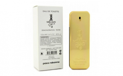 Tester Original Paco Rabanne 1 Million