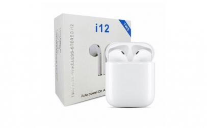 Casti Wireless I12 TWS Waterproof