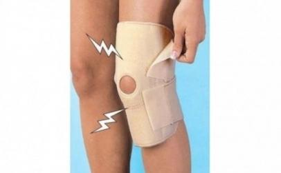 Suport cu magneti pentru genunchi