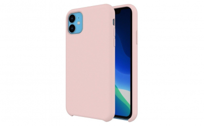 Husa Silicon Iphone 11 Roz