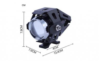 """Proiector LED ATV, Moto de 2"""" cu 2 faze"""