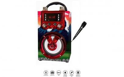 Boxa portabila cu Karaoke si microfon