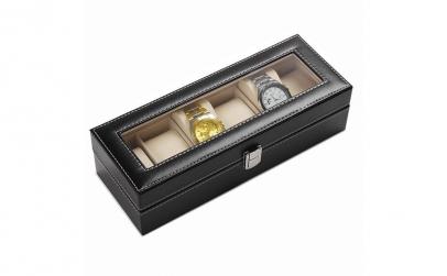 Cutie caseta depozitare 6 ceasuri