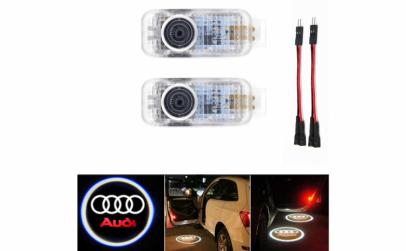 Set 2 x Holograma auto pentru usa - Audi