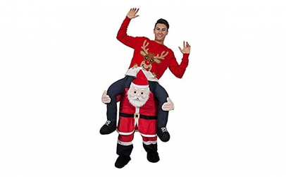 Costum Mos Craciun Carry Me Santa