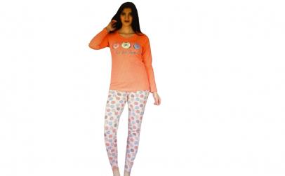 Pijama de Dama din Bumbac