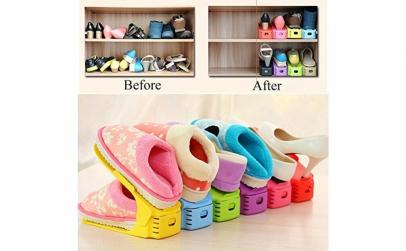 Set 6 organizatoare pentru pantofi