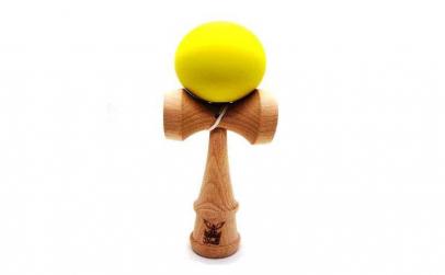Kendama Ball Originala Lemn Fag Galben