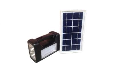 Kit solar cu lanterna si panou solar, 3