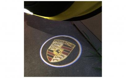Lampi logo portiere universale Porsche