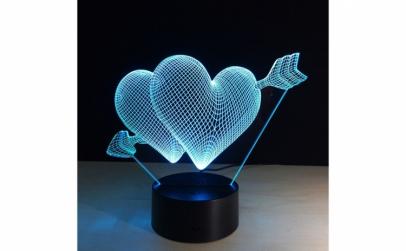 Lampa LED Decorativa New Idea 3D