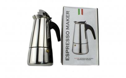 Espressor aragaz pentru cafea,din inox