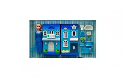 Castel cu mobilier si papusa Elsa