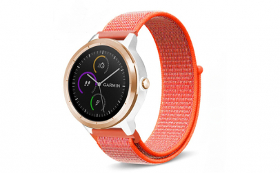 Curea Textila Premium MTP Neon Orange