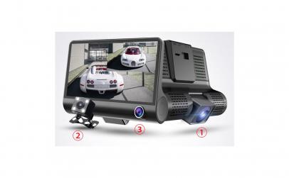 Camera auto tripla