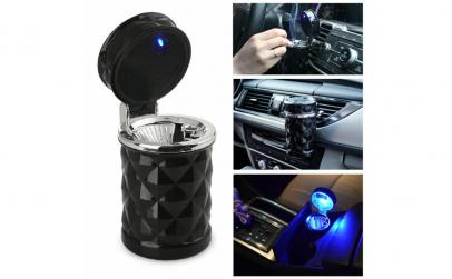 Scrumiera auto LED