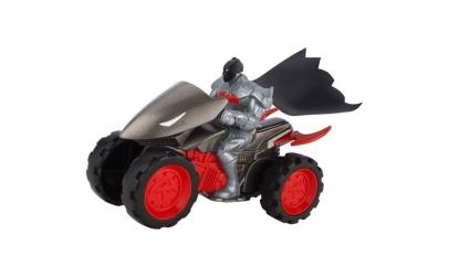 Batman Cu ATV Mattel Batman + 4 Wheeler