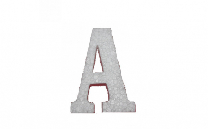 Litera A Polistiren 10 cm