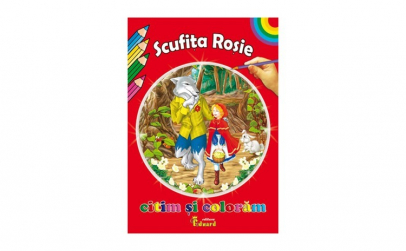 Citim si Coloram Scufita Rosie - Charles