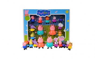 Set 11 figurine Peppa Pig