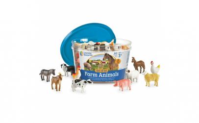 Set 60 Figurine   Animale de la ferma