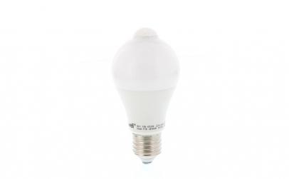 Bec cu LED cu senzor PIR A60 10W lumina