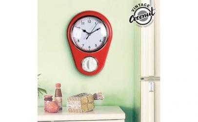 Ceas de Perete cu Cronometru Vintage