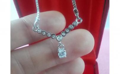Colier Dream Diamond, dublu placat aur