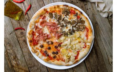 Pizza Quattro Stagioni 24 cm (Cuptor cu