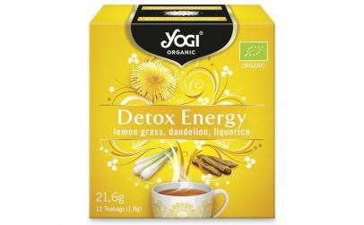 Ceai BIO detoxifiant cu lemongrass,