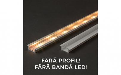 Ecran transparent pt. profil aluminiu
