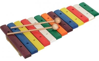 Xylophone din lemn