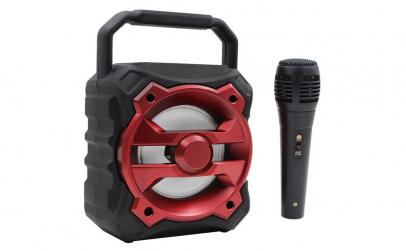 Boxa portabila wifi, BT + microfon