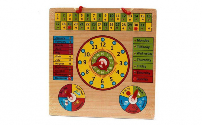 Jucarie educativa calendar, ceas,