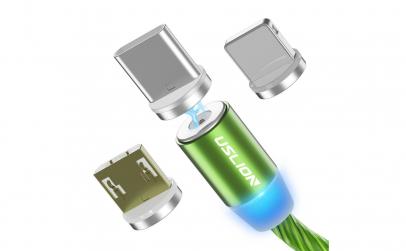 Cablu USB cu Mufa Magnetica Micro USB