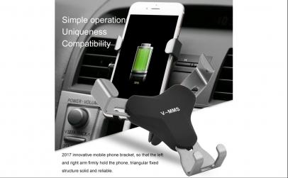 Suport auto pentru telefon V-MMS