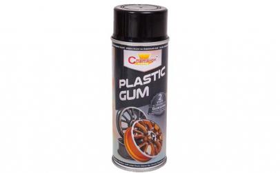 Spray vopsea cauciucata NEGRU RAL 9005